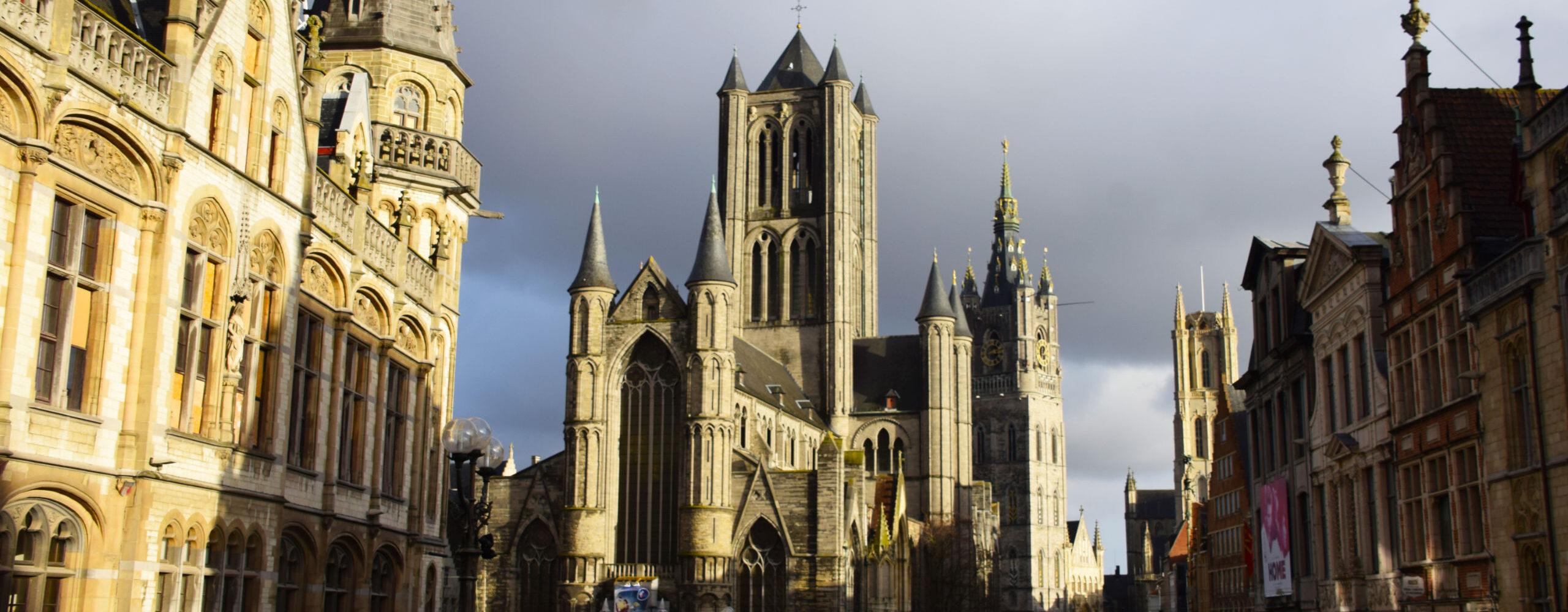 Великолепный Гент. Самый молодой древний город Бельгии.