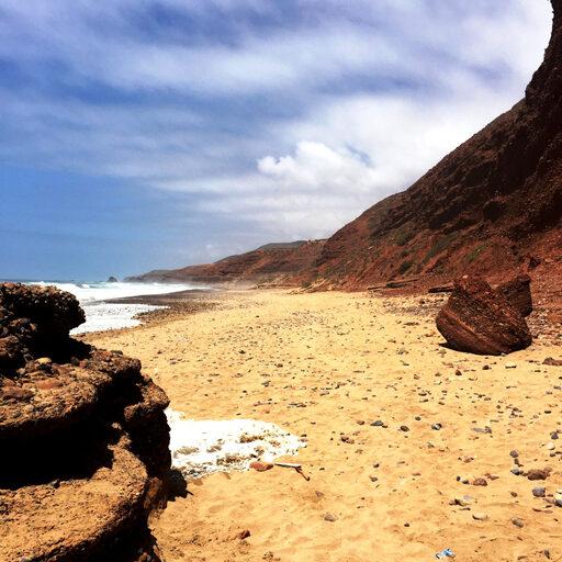Пляж Легзира — марроканское чудо света.