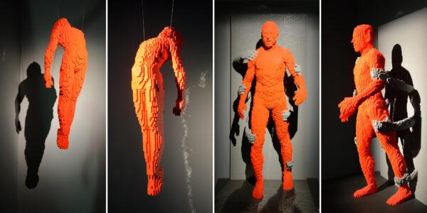 Выставка «Искусство Лего» Натана Савайи