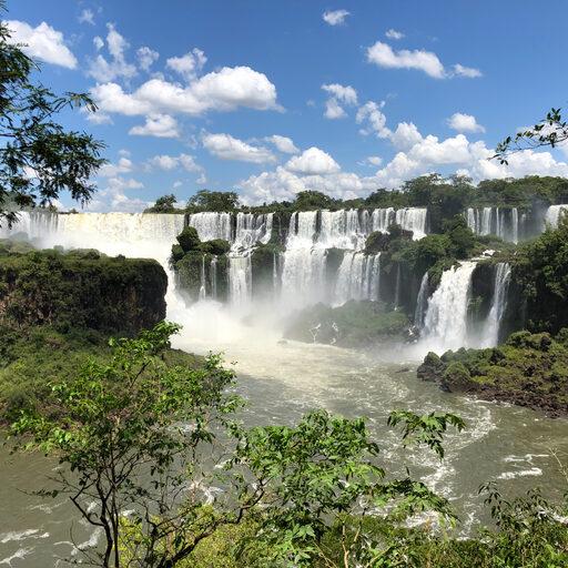 Аргентина, ч.4: водопады Игуасу, февраль 2019