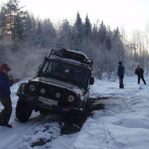 Экспедиция. 3-6 Января 2009 Московская область