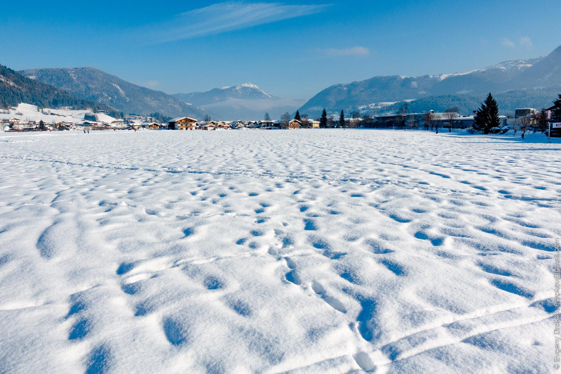 Австрия зимой