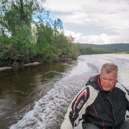 Якутия, вниз по Буотаме-реке. Мощный рывок
