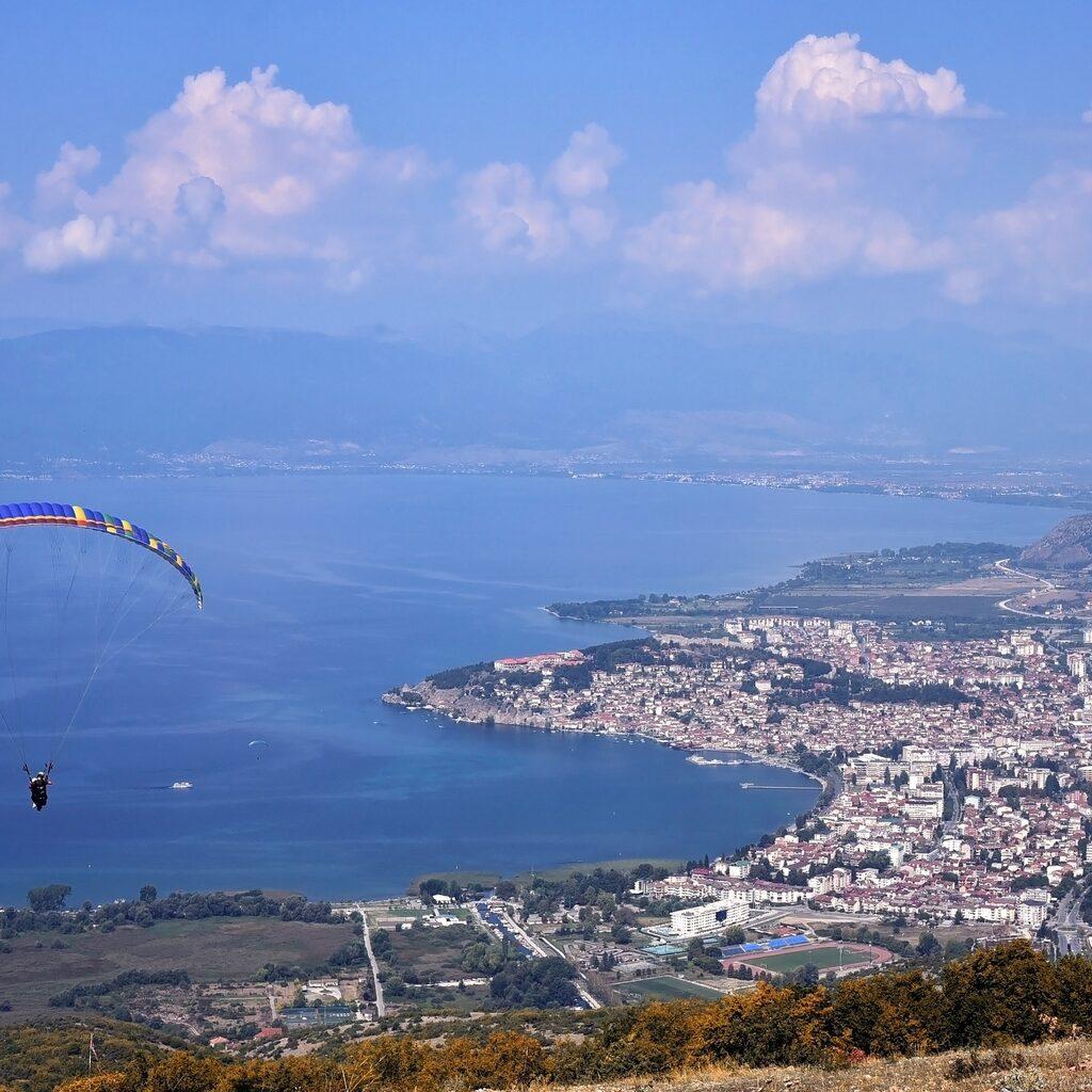 Монастырь Святого Наума и полёт над Охридом
