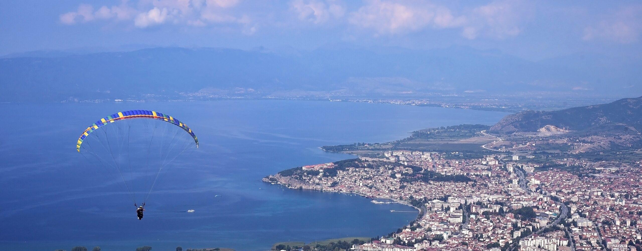 Монастырь Святого Наума иполёт над Охридом