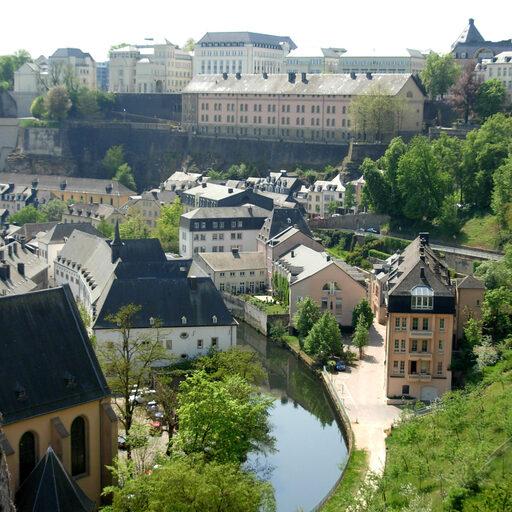 Люксембург, столица Великого Герцогства