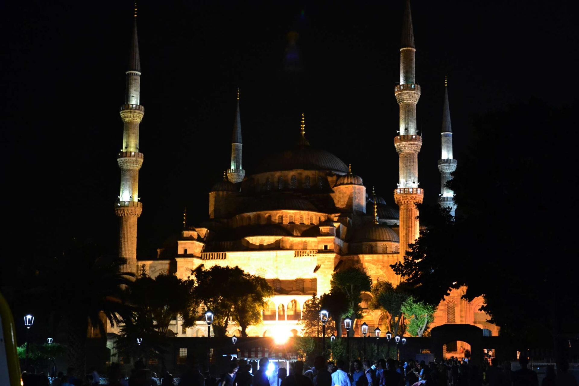 Султанахмет. Голубая мечеть. Ипподром.