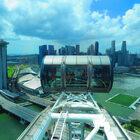 Сингапур сколеса обозрения.