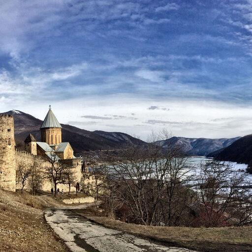 Зима по-грузински.