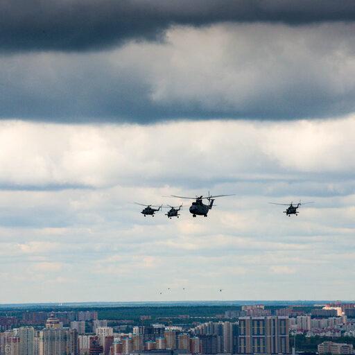 5 мая -самолеты над городом. Или репетиция Парада Победы 2016