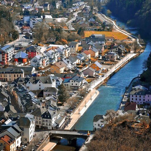Люксембург и Замок Вианден