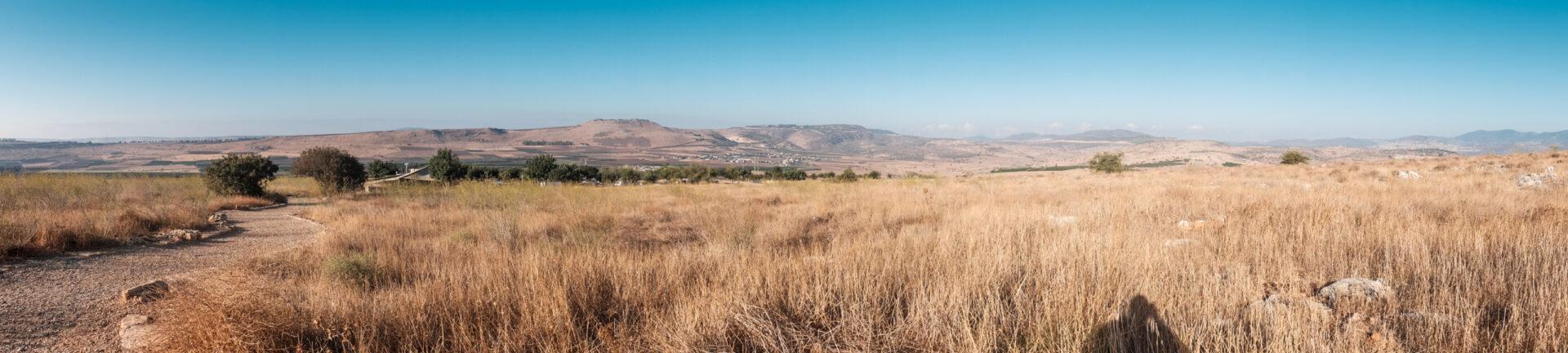 Гора Арбель изамок крестоносцев Ехиям.