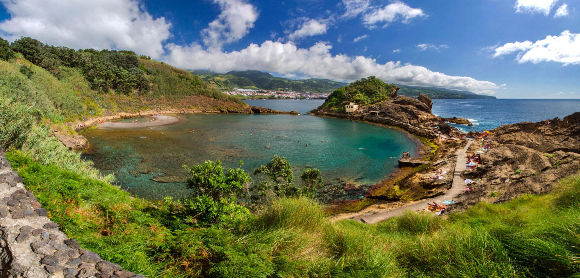 Зеленый остров Сан-Мигель