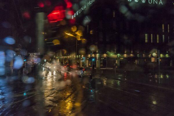 Милан. Дождь. Сильный дождь.