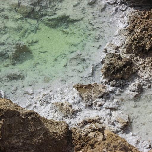 Мертвое Море. Израиль. Марсианские пейзажи