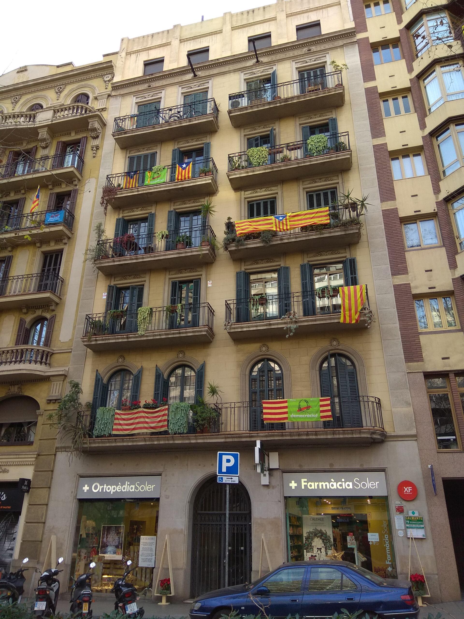 Столица Каталонии. Январь 2018