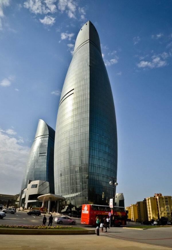 Баку. Свысоты Нагорного парка