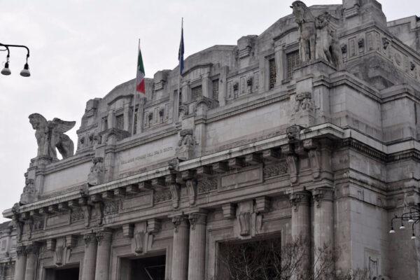 Milano Centrale. Стационе колоссале тоталитаре