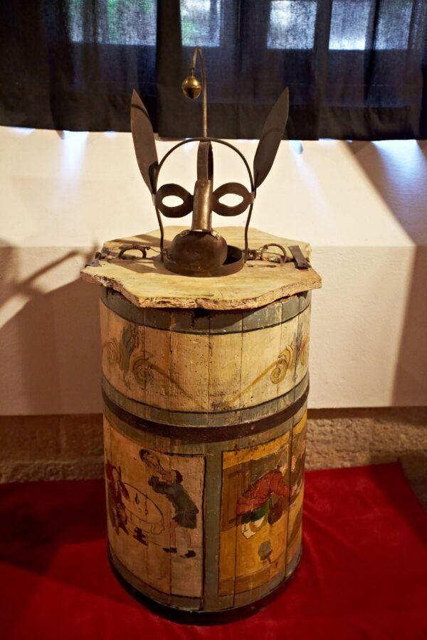 «Музей пыток». Вольтерра. (Италия).