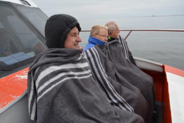Намибия. Бухта Китовая. Абухтят котики.