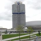 Музей BMW вМюнхене.