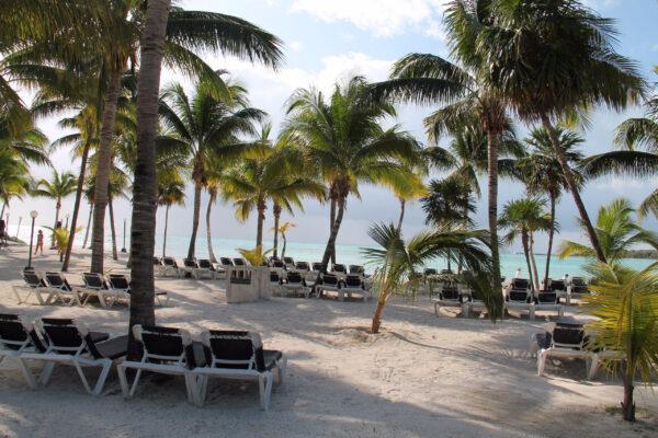 Наш отель «Barcelo Maya Caribe» иПриродный парк Сиан Каан.