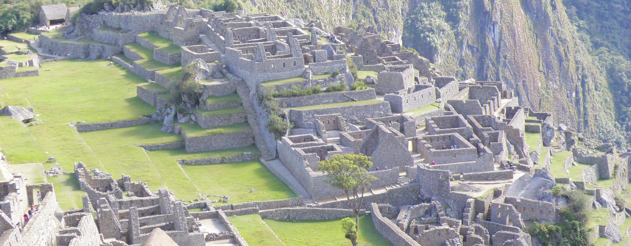 Жемчужина Перу— Мачу-Пикчу.