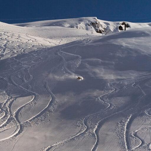 Один солнечный день в Альпах 2020
